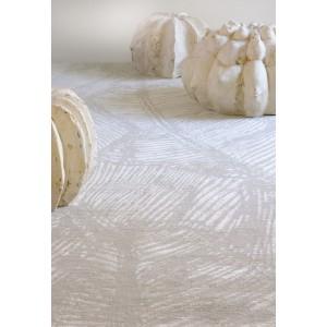 Tapis Tropical ivoire/platine, Toulemonde Bochart