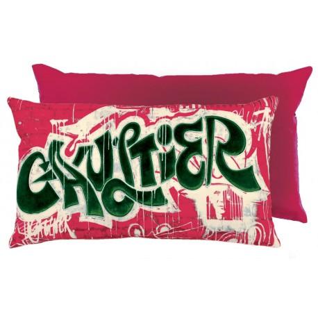 Coussin America graphite Jean Paul Gaultier
