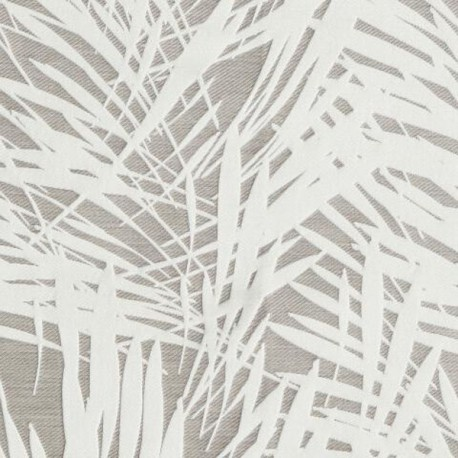 Tissu Cuba fusain by Lelievre
