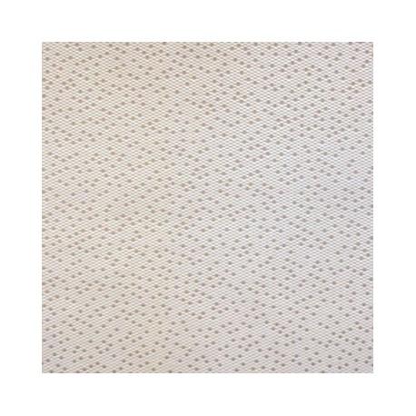 Tissu Facette blanc by Lelievre