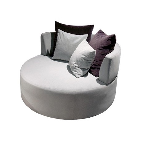 Fauteuil Bamboo rond