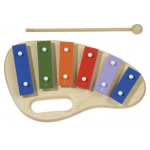 Xylophone 6 notes 30 cm, Protocol