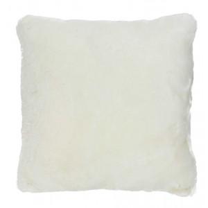Coussin fourrure Pecore blanc, Now's Home