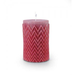 Bougie Chevron Rouge, Missoni Home