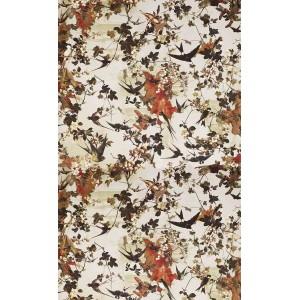 Papier peint Hirondelle Printemps, Jean Paul Gaultier
