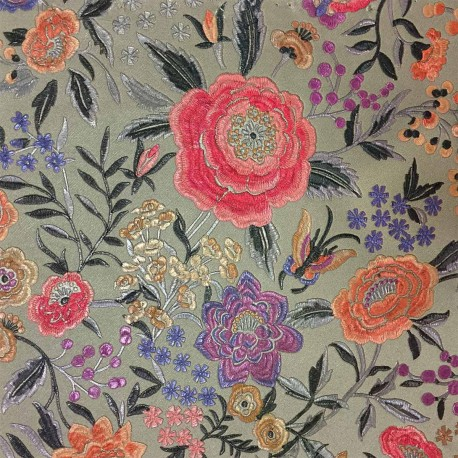 Papier peint Oriental Garden Azalea, Missoni Home