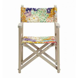 Chaise pliante Regista Seychelles, Missoni Home