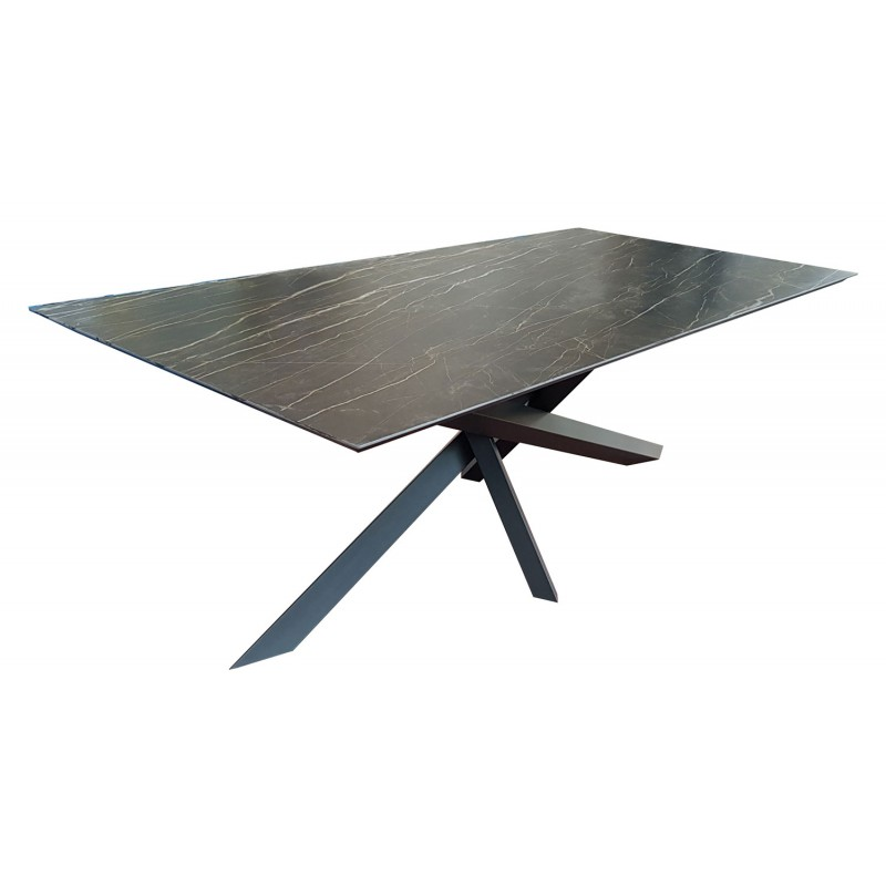 Table Repas Ceramique Versatil Rallonges 8 Finitions Tables De