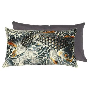 Coussin Sublimation gold Jean Paul Gaultier