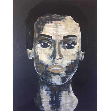 Tiven - Impression du tableau Adielle sur Plexiglas