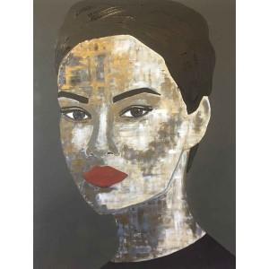 Tiven - Impression du tableau Ji Hye sur Plexiglas
