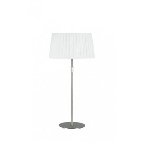 Lampe télescopique Plissée blanche