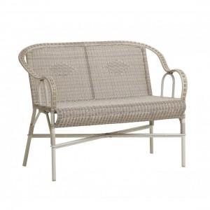 Canapé outdoor très résistant en rotin de résine Provence KOK Maison