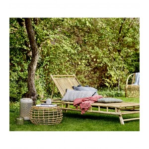 Chaise longue Bambou Naturel, Bloomingville