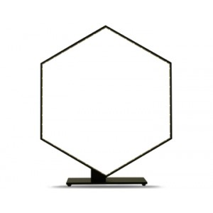 Lampe Hexa noire, Le Deun Luminaires