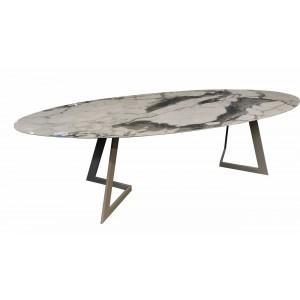 Table repas Céramique ovale Zappa
