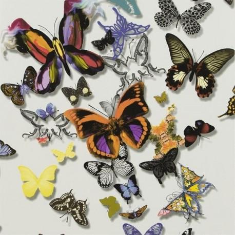 Papier peint Butterfly Parade Multicolore, Christian Lacroix