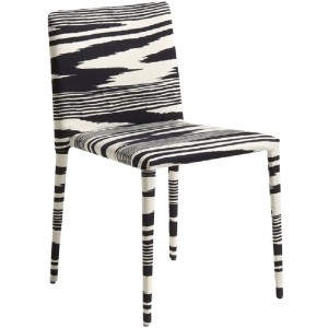 Chaise Miss Neuss noir, Missoni Home