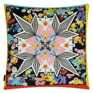 Coussin Flowers Galaxy Multicolore, Christian Lacroix