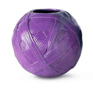Vase Jar Gomitolo violet, Missoni Home