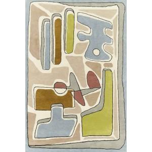 Tapis Puzzle Nuageux Pastel, Toulemonde Bochart