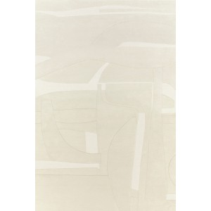 Tapis Collage blanc, Toulemonde Bochart