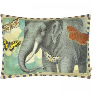 Coussin Dragonfly Over Clouds Sky Blue John Derian 40x60 cm