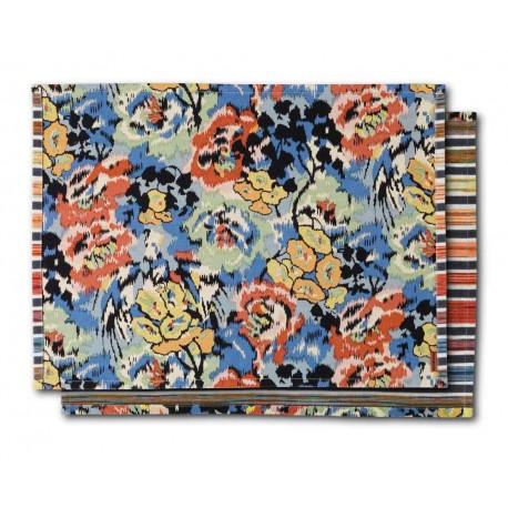 Sets de table coton Ajaccio au motif fleuri Missoni Home