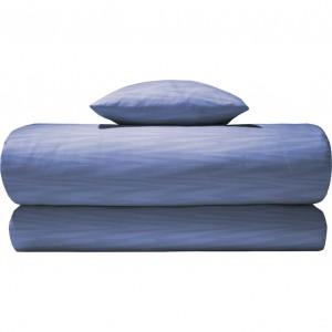 Housse de couette Angie bleu Missoni Home en percale de coton