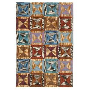 Tapis Acklins en laine au patchwork géométrique Missoni Home