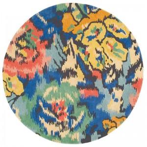 Tapis Aspen rond au motif floral multicolore Missoni Home