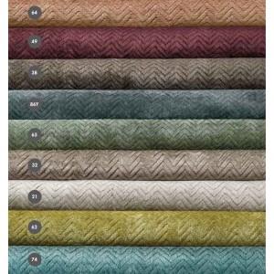 Tapis Veyvah uni au motif zigzag proposé en 9 coloris Missoni Home