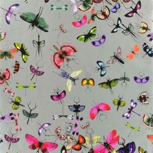 Papier Peint Mariposa Zinc motifs insectes Christian Lacroix