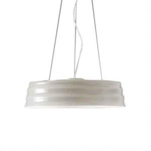 Suspension ronde design sable C'HI en verre soufflé Penta Light