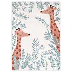 Tapis enfant Nisu girafes, Nattiot