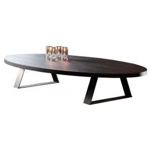 Table basse ovale Trévise ovale PH Collection 9 finitions au choix