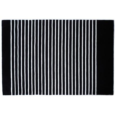 Tapis Ancre noir/écru Jean Paul Gaultier