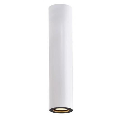 Plafonnier Barro long blanc