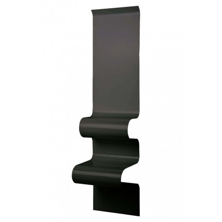 Chevet design en métal noir mat, Vidame