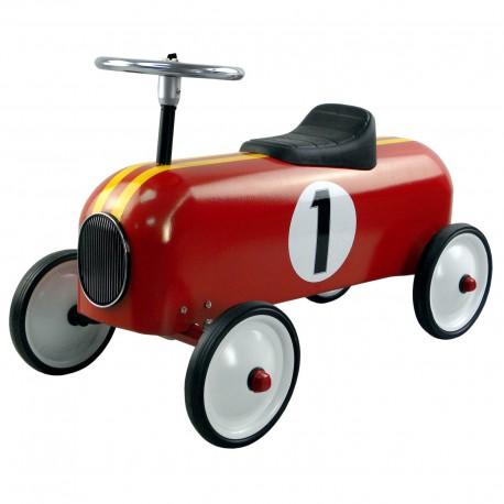 Porteur voiture rouge 1, Protocol