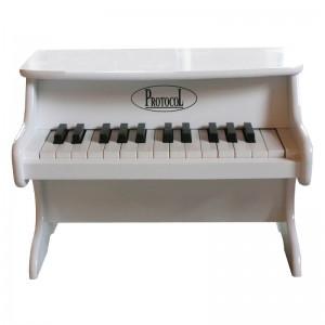 Petit piano blanc, Protocol
