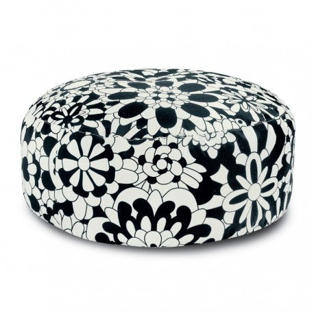 Pouf Vevey Pallina B&W by Missoni Home