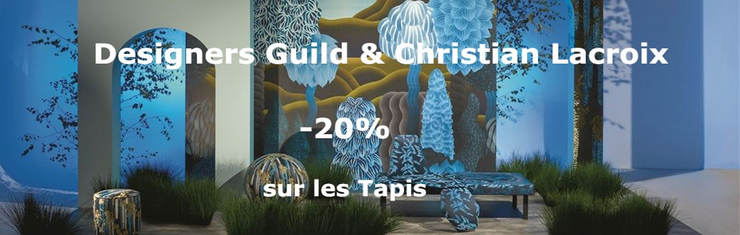 -20% sur les tapis Designers Guild et Christian Lacroix